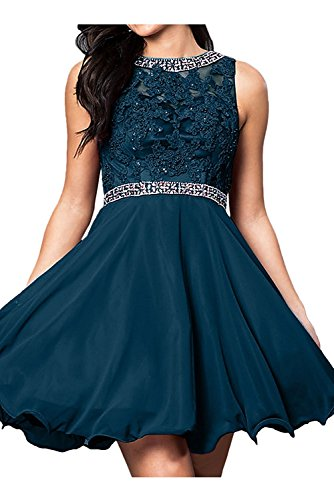 Tinte Blau Partykleider Kurzes Mini Spitze Cocktailkleider Abendkleider Braut Damen Promkleider La Marie HqwvxOPSwZ