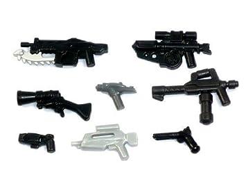 Custom Brick Forge Waffen Set 8 Waffen Für Lego Figuren Waffe