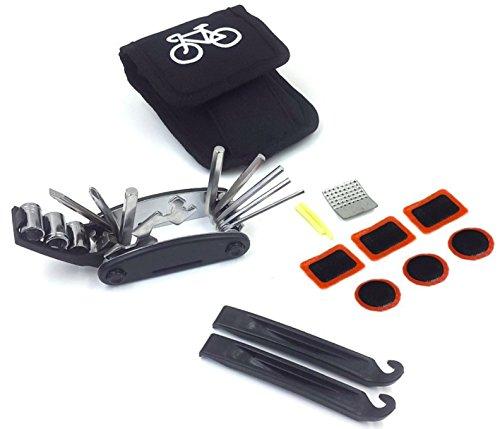 Kit de Herramientas Multifuncional para Bicicleta con 16 Funciones. Bike Multitool. El Kit 16 en 1 Incluye Set de Llaves...