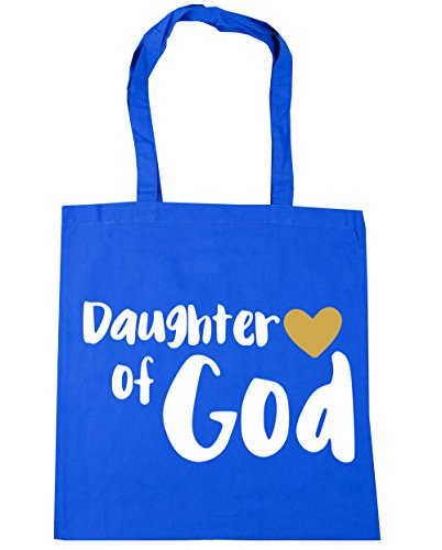 10 Gym litres Blue Beach Tote x38cm of Shopping God HippoWarehouse Bag Cornflower Daughter 42cm PXwvqxT