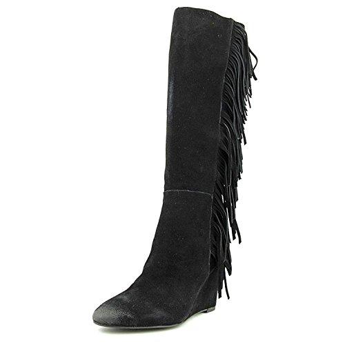 Polo Ralph Lauren Ralph Lauren Denim & Supply Women's Darcie Fringe Tall Boot, Black, Size - Women For Boots Lauren Polo Ralph