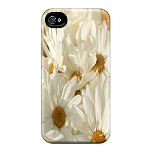 High Quality DaMMeke Flowers Skin Case Cover Specially Designed For Iphone - 4/4s