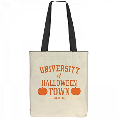 Halloween Town University Orange: Liberty Bags Tote (Disney Halloween Movies 1990s)