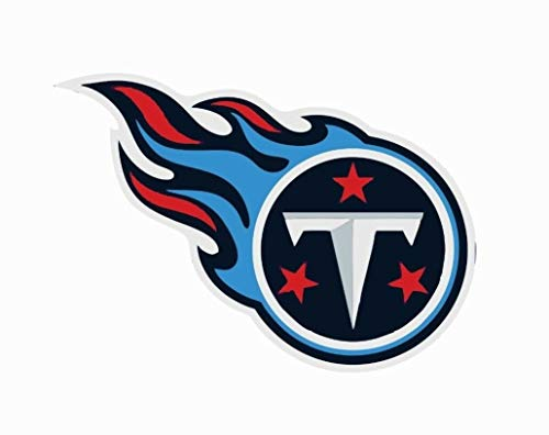 Crazy Discount Vinyl Sticker Decal Tennessee Titans NFL for Windows Car Cell Phone Bumpers Laptop Wal, 3