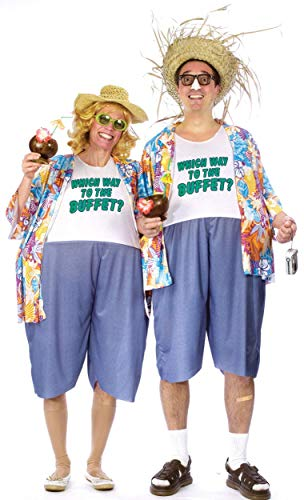 Tacky Traveler Costume - Standard - Chest Size 33-45 -