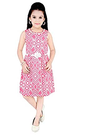 Pinky baby Special Occasion Straight Dress For Girls
