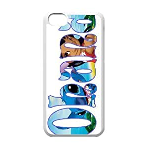 Custom High Quality WUCHAOGUI Phone case Lilo & Stitch - Ohana Means Family Protective Case For Iphone 5/5s - Case-14