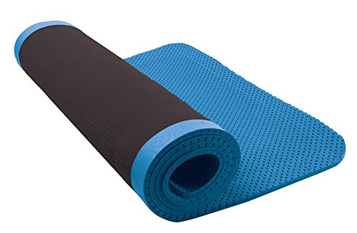 Nike Ultimate Pilates Mat 8mm Blue Yoga Exercise Mat