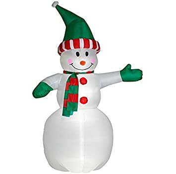 6 foot christmas inflatables airblown giant snowman xmas blow up decorations for yard garden home holiday