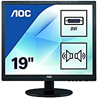 AOC International 22 TFT LED Backlit Blk