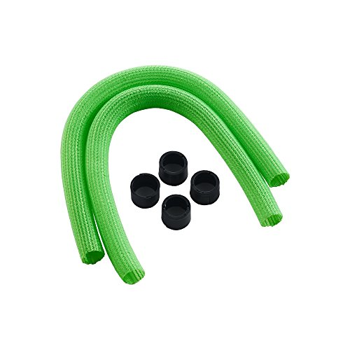CableMod AIO Sleeving Kit Series 1 for Corsair Hydro Gen 2 (Light (2 Green Cables Series)