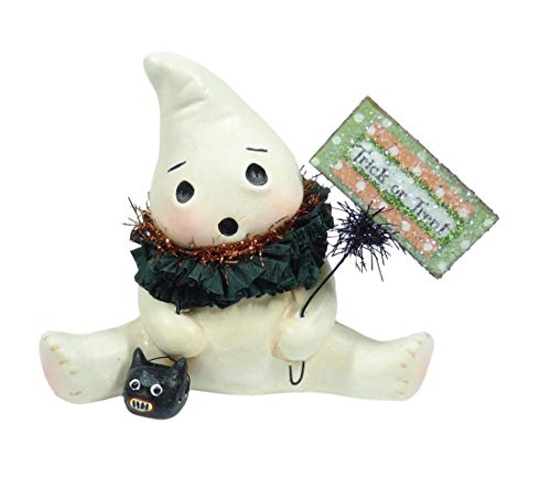 Bethany Lowe Halloween Trick or Treat Ghostie Resin Ghost 4.25inch Figurine 2018