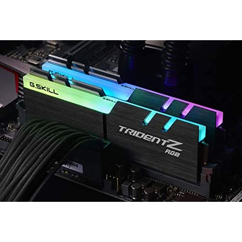 chollos oferta descuentos barato Memoria GSKILL DDR4 16GB PC3200 C14 TZ RGB Kit 2 2X8GB 1 35 TRIDENTZ RGB AMDRYZ