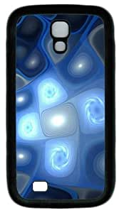 Cool Painting Eclectic Shapes PC Silicone Case Cover for Samsung Galaxy S4/I9500