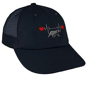 Trucker Hat Baseball Cap Dog Border Collie Lifeline Embroidery Dad Hats for Men 44