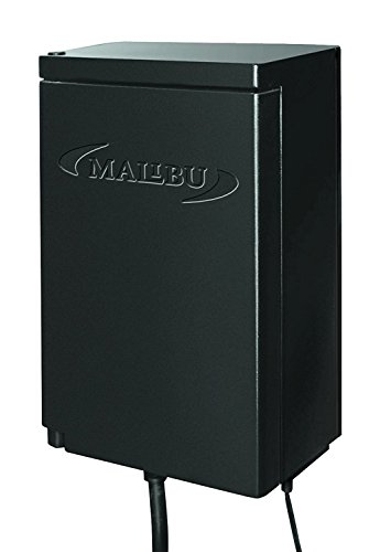 Malibu 45-Watt Transformer with Timer and Sunlight Sensor for Low Voltage Landscape Lighting 120V Input 12V Outdoor