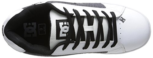 Pinstripe Se Men's White Black Lace Shoes Net DC Up f8tPq