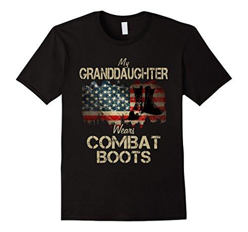 Mens My Granddaughter Wears Combat Boots XL (Wears Combat Boots)