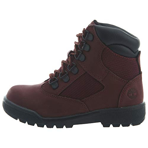 (Timberland 6 inch Little Kids (PS) Field Boots Burgundy tb0a1ato (1.5 M US))
