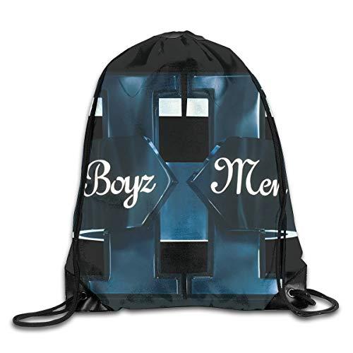 (AlexisW Boyz Ii Men II Backpack Gymsack Drawstring Bags Sport Bag for Men & Women)