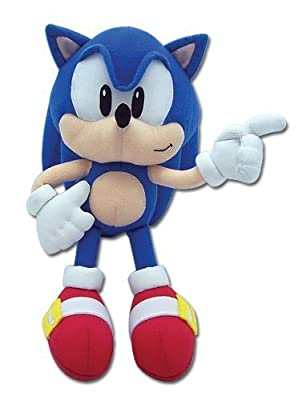 Ge Animation Sonic The Hedgehog Classic Sonic Plush by Japan VideoGames
