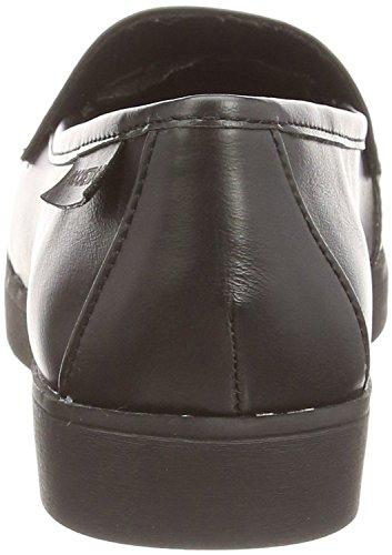 Rocket Dog Etty Noir Femmes Loafers Slipon Chaussures
