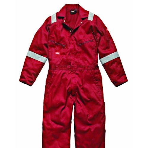 Dickies Hi Vis Stripe Workwear Coverall