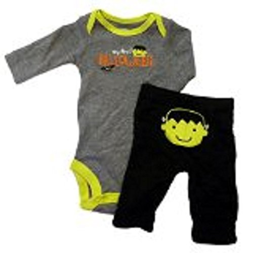Carters Infant Boys My First Halloween Outfit Frankenstein Bodysuit & Pants 6 -