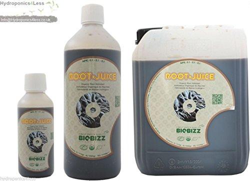 Root Juice - BioBizz Bio Root Juice Organic Roots Stimulant Nutrient Hydroponics 250Ml 1 & 5L (250Ml)