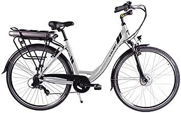 CLOOT Bicicleta Electrica Paseo Ionic Ion Litio 37V con 481Wh ...