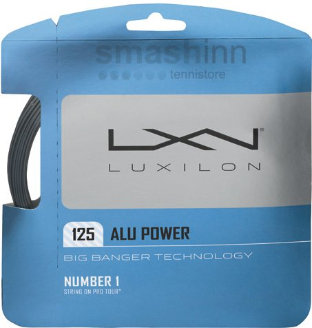 Luxilion ALU Power 125 Tennis Racquet String Set (16L Gauge, 1.25 mm) – DiZiSports Store