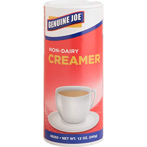 Genuine Joe Nondairy Creamer Canister (Pack of 3) (Genuine Joe Four)