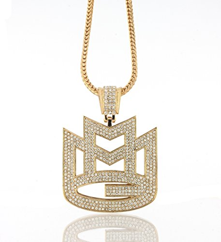 iced-out-gold-rick-ross-maybach-music-mmg-pendant-w-30-36-franco-chain-30-inches