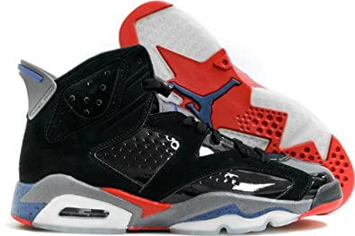 Nike Mens Air Jordan 6 Retro \u0026quot;Pistons\u0026quot; Black/Varsity Red-True