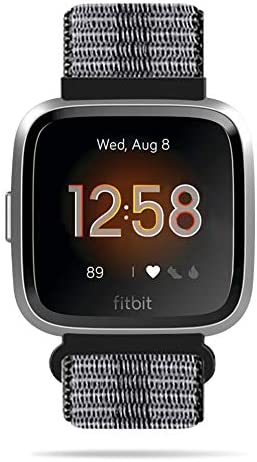Relting Sport Bands Compatible for Fitbit Versa/Versa 2/Versa Lite/Versa SE/Versa Special Edition Smartwatch,Soft Breathable Nylon Replacement Wristband Strap for Women Men