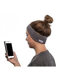 AcousticSheep SleepPhones sin esfuerzo, auriculares Bluetooth para dormir, viajar y más altavoces planos, batería recargable sin complicaciones M