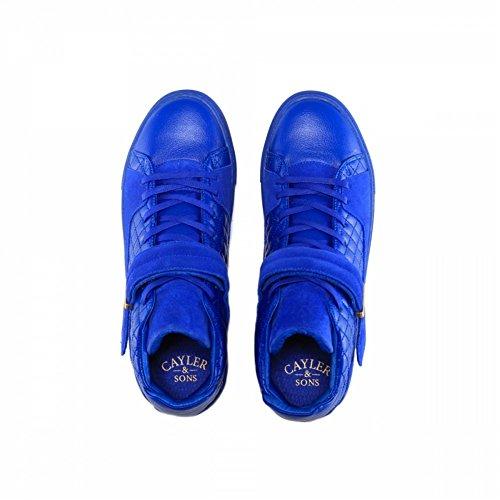 Zapatillas Cayler & Sons – Sashimi azul/dorado talla: 42
