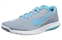 Nike Women's Flex Experience Rn 4 Cl Gry/Grn Glw/Anthrct/Ghst Gr Running Shoe 7 Women US
