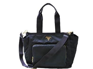 ceb7c9b95965 Amazon | [プラダ]PRADA BR4102-BABY BAG トートバッグ BLEU ネイビー [並行輸入品] | トートバッグ
