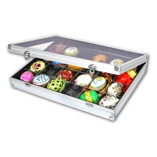 Rock, Gem & Mineral, Lego Display Case - Aluminum (Aluminum Display Case compare prices)