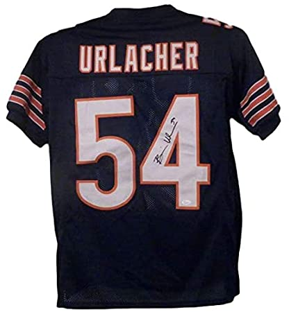 Image Unavailable. Image not available for. Color  Brian Urlacher  Autographed Signed Chicago Bears XL Blue Jersey JSA a3df35124