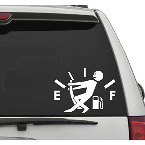 Seek Racing Fuel Consumption Decal CAR Truck Window Bumper Sticker Funny Joke Gas Mileage