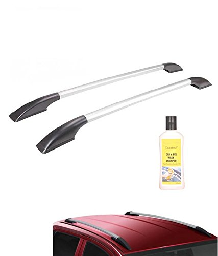 Canabee Car Roof Rails  Silver For Datsun GO Plus