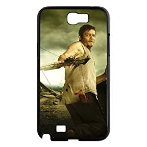 D-PAFD Diy Phone Case The Walking Dead Pattern Hard Case For Samsung Galaxy Note 2 N7100
