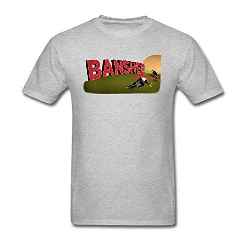 Crux Tee - LSLEEVE Men's American Crux Play Banshee T-shirt Grey L