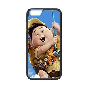 iPhone 6 4.7 Inch Cell Phone Case Black disney-up-kid-illust-art Yaewh
