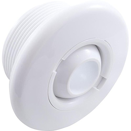 Balboa 50-3500WHT Hydro Jet Spa Complete Wall Fitting Assembly - White ()