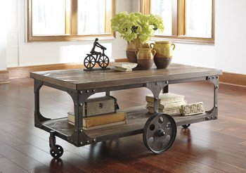 Railroad Cart Coffee Tables