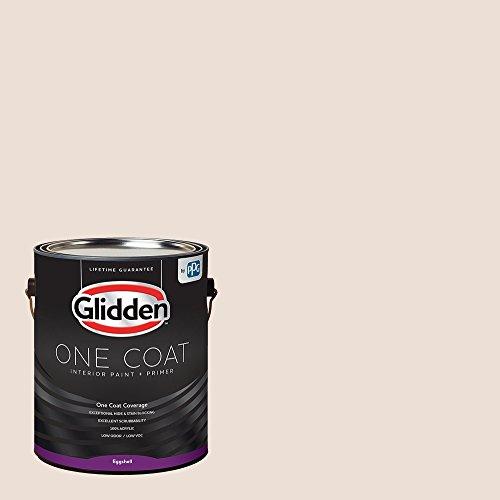 Paint Gallon Peach - Glidden Interior Paint + Primer: Peach/Sablewood, One Coat, Eggshell, 1-Gallon