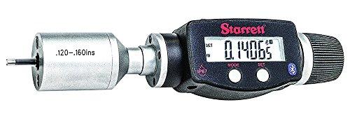 Starrett Bore Gage (Starrett 770BXTZ-160 Electronic Digital Internal Bore Micrometer with Bluetooth, SPC output, 0.120-.160